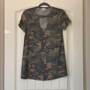 Long Camo Shirt